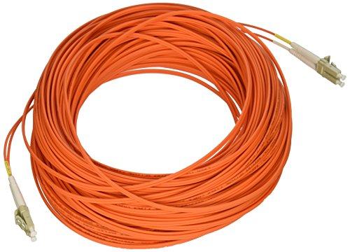 Tripp Lite Duplex Multimode 62.5/125 Fiber Patch Cable (LC/LC), 46M...