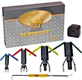 Kit King - Rod Seal Install Tool Set - 5 Piece Hydraulic U-Cup Twistor...