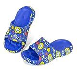 Sandali per bambini, comodi e antiscivolo, da spiaggia, per bambini, (Blue 0418), 27/28 EU