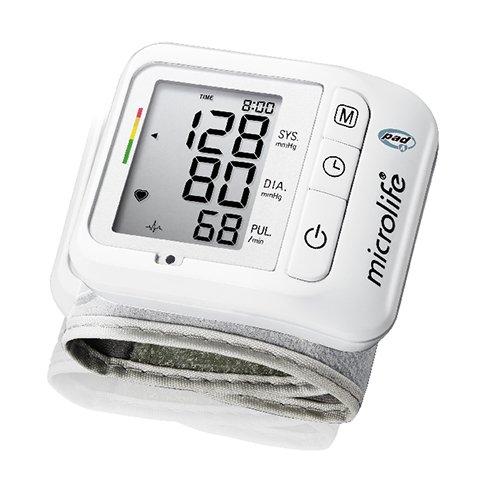 MICROLIFE BP W1Basic Handgelenk Blutdruckmessgerät mit Pulse arrhytmie-Erkennung