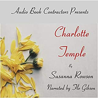 Charlotte Temple audiobook cover art