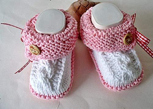 Babyschuhe Tracht gestrickt