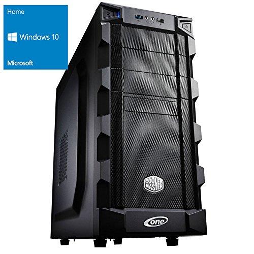 ONE Multimedia-PC AMD Bulldozer FX-8350, 8x 4.00 GHz (Octocore) | 16 GB DDR3-RAM | 250 GB SSD & 1000 GB HDD | BLU-RAY Brenner | Gigabyte GA-78LMT-USB3 | CardReader | 4 GB NVIDIA GeForce GTX 1050 Ti (HDMI, DVI, DP) | 7.1 Sound | LAN | inkl. Windows 10 Home (64-Bit)