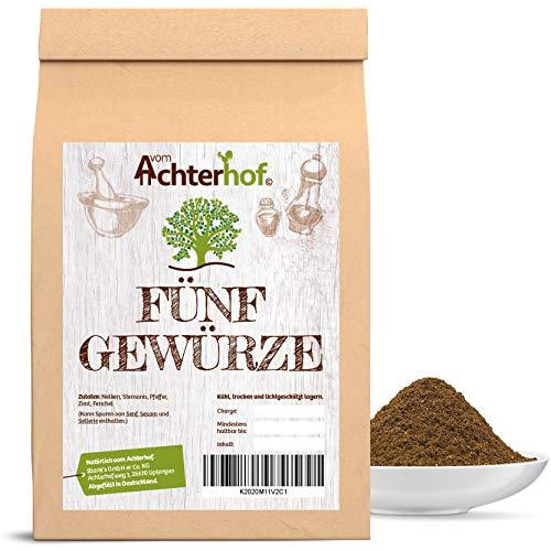 100g Fünf / 5 Gewürze Pulver - Höchste Qualität - Natürlich vom Achterhof