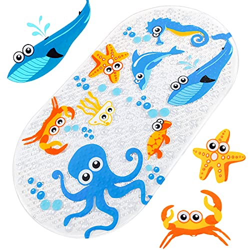 Baozun Tapis de bain, de douche, antidérapant, pour bébé et enfant