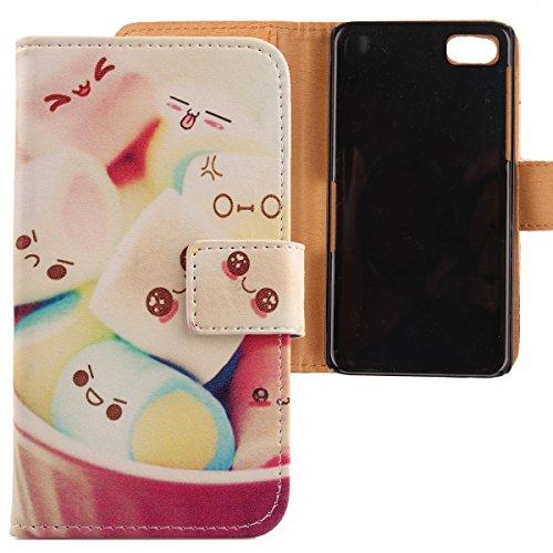 Lankashi PU Flip Leder Tasche Hülle Hülle Cover Schutz Handy Etui Skin Für BlackBerry Z10 Lovely Design