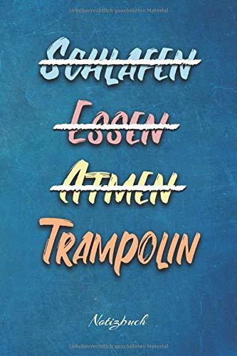 Trampolin: Ein Notizbuch für Kinder die gerne Trampolin springer | 120 karierte Seiten für deine Notizen | Geschenk für Trampolinspringer | 6x9 Format (15,24 x 22,86 cm)