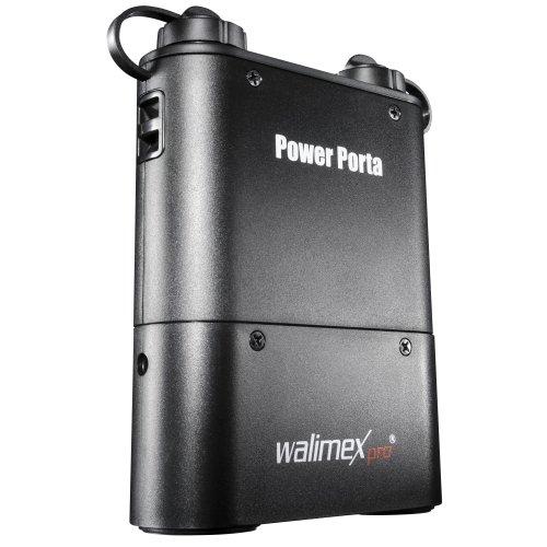 Walimex Pro Powerblock Power Porta - Batería de Ion de Litio para Flash (4500 mAh) Compatible con Sony