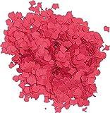 Verbetena - Confetti, color rojo, 1 kg (012000050)