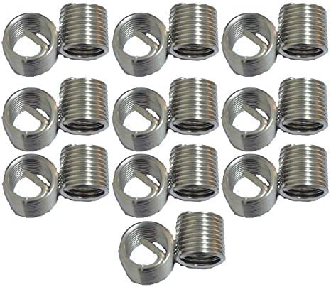 XunLiu 304 Stainless Steel Wire Stripped Classic HeliCoil Thread Insert Max 44% OFF