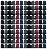 Yacht & Smith Mens Womens Warm Winter Hats in Assorted Colors, Mens Womens Unisex (144 Pairs Assorted)