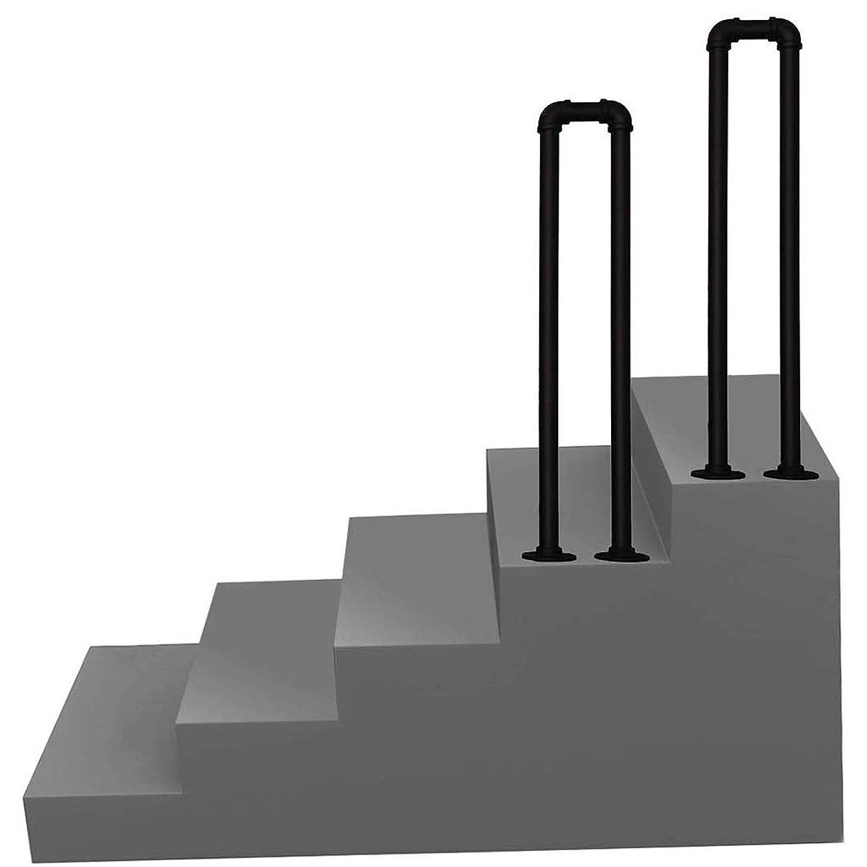 間隔ストラトフォードオンエイボン雨U字型鍛造アイアン階段手すり、プロフェッショナル2段階または3段階屋内屋外の高齢者の子供のロフト回廊安全ノンスリップサポートバー (Size : 75cm)