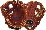 Mizuno Men's MVP 11.5in Baseball Glove RHT Brickdust Size 11.5 inch Right Hand