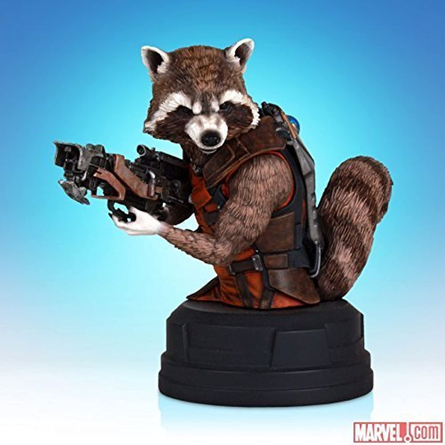 MARVEL GUARDIANS OF THE GALAXY ROCKET RACCOON EXCLUSIVE SDCC COMIC-CON MINI BUST by Gentle Giant