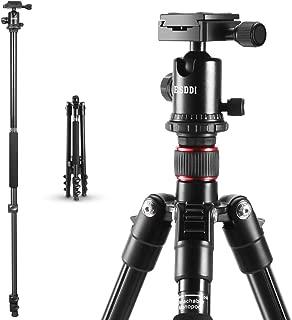 Camera Tripod ESDDI 64 Inches Aluminum Alloy Tripod with Monopod and 360 Degree Ball Head Compact Tripod for DSLR Canon Nikon Sony for Travel and Work