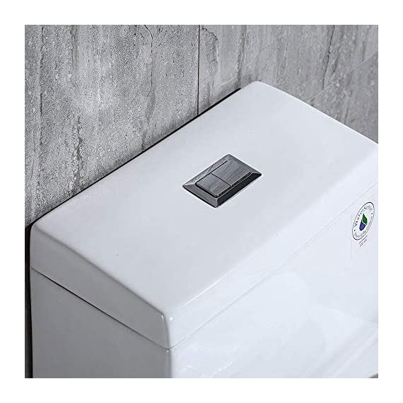 WOODBRIDGE T-0001, Dual Flush Elongated One Piece Toilet with Soft Closing Seat, Comfort Height, Water Sense, High-Efficiency, Rectangle Button B-0940 Pure White 10 <p>✅ : Ship from warehouse directly ; Fast shipment Thant regular order ✅ : Luxurious Modern Design one piece toilet , Clean, sleek look and compliment with different styles like modern , craftsman , traditional and etc. ✅: The skirted trap way creates a sleek look and makes cleaning easier. Compare to other toilets, it has no corners and grooves, very easy to reach for cleaning . ✅: Siphon Flushing one piece toilet, Fully glazed flush system , bringing a super quiet and powerful flushing - NO clogs, NO leaks, and NO problem ✅: Comfort Height Design, Chair-height seating that makes sitting down and standing up easier for most adults ✅ High end Soft Closing Toilet Seat with Stainless Steel Durable Seat Hinge, Easy to get the toilet seat off to tighten or clean after years of use. ✅ : Package Includes toilet, pre-installed soft closing toilet seat, pre-installed water fitting , high quality wax ring , floor bolts , and installation instruction, also Include special hand wrench tool to easily tighten the bolts in narrow spaces. ✅ : US & Canada UPC & CSA certified products. High-efficiency, Water Sense Certified toilet - meet or exceed ANSI Z124. 1 & ANSI A112-19. 7 ✅ : 5 year limited on porcelain parts against fading/staining of the glaze; 1 Year on flushing mechanism & soft closing toilet seat , Woodbridge US based product support team is happy to assist with any sales or product-oriented queries.</p>