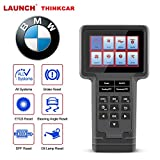thinkcar ThinkScan S02-OBD2 Scanner Car Diagnostic Tool All System Automotive Scan Tool Multilingual Code Reader Oil/Brake/SAS/ETS/DPF Reset