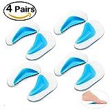 PIXNOR Correction de semelles pied Pads plaquettes Arch pour pied plat taille L - 4 paires
