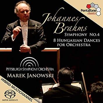 Brahms: Symphony No. 4 - 8 Hungarian Dances for Orchestra