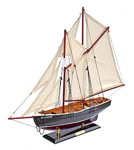 """Navyline, Modellino in legno di imbarcazione canadese in legno """"Bluenose"""""""