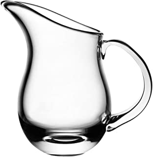 Nambe Moderne Glass Pitcher, 6-Inch