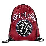 1Zlr2a0IG Drawstring Backpack Art Design Print Rucksack Shoulder Bags Gym Bag Hip Hop Stay Wild Wander Animal 17'x12' Fricstar Fashion429