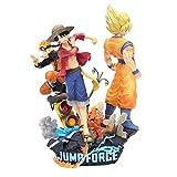 VNNY One Piece Uzumaki Naruto Son Goku Jump Force Action Figure Modello Anime Figma PVC 25cm Collezione Toy Desktop Decorazione Regalo