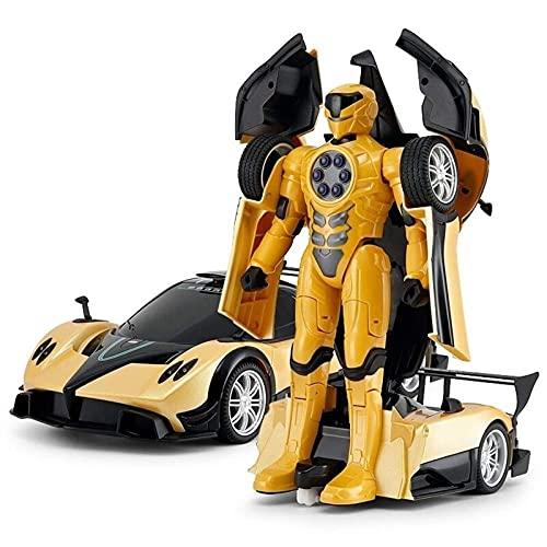 Children's Toy Robot Car 1:14 Control remoto Toy Car CARGABLE CARGABLE DEFORMACIÓN Serie de simulación Vehículo RC Coche Mano regalos de cumpleaños Play para el regalo de bebé de 5+ años niños pequeño