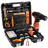 LETTON <span class='highlight'>Power</span> <span class='highlight'>Tools</span> Combo Kit with 16.8V Cordless <span class='highlight'>Power</span> Drill Set and 48pcs <span class='highlight'>Hand</span> Tool Set Combo Kit in Storage Case