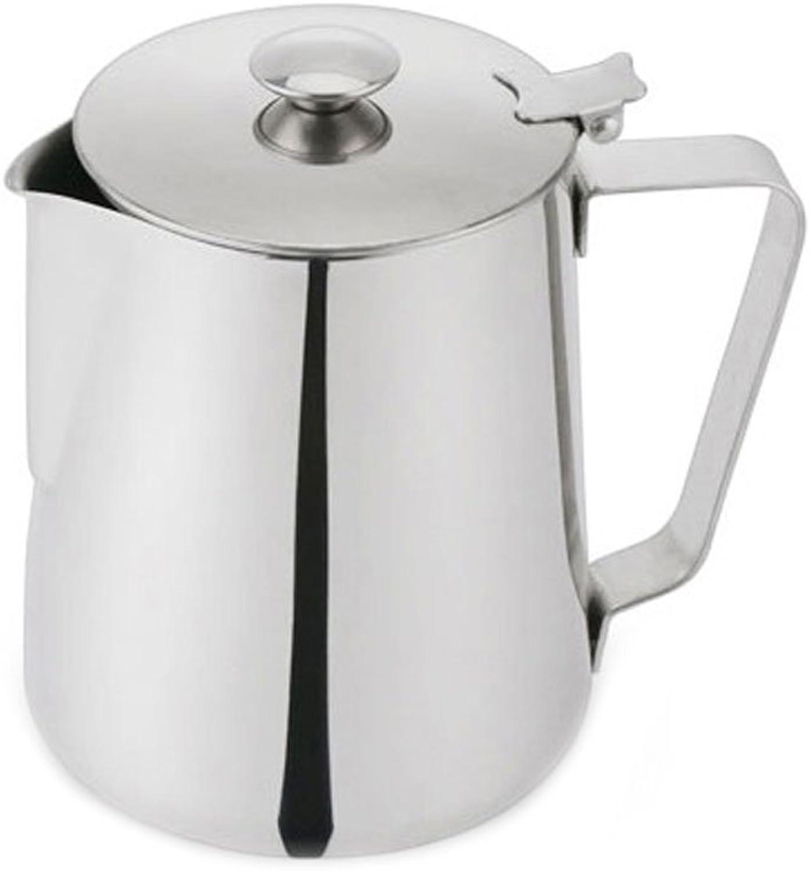 Cozyle Dick Edelstahl Kaffeekanne mit mit mit Deckel Kaffee Utensilien Silber 12oz B07BHH7WHM 93ec2f