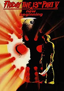 Friday the 13th Part 5 New Beginning (B) POSTER (11