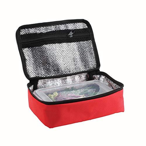 DOMOCLIP SEP125R Set Lunch Box Rouge