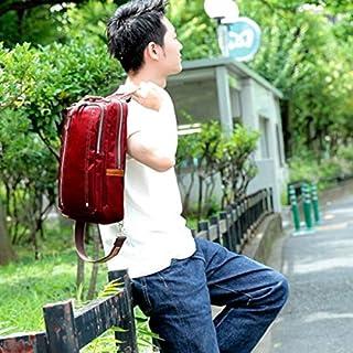 オティアス(Otias) 【日本製】A4大きめ高密度ナイロン×本革ボディバッグ/父の日プレゼントギフト