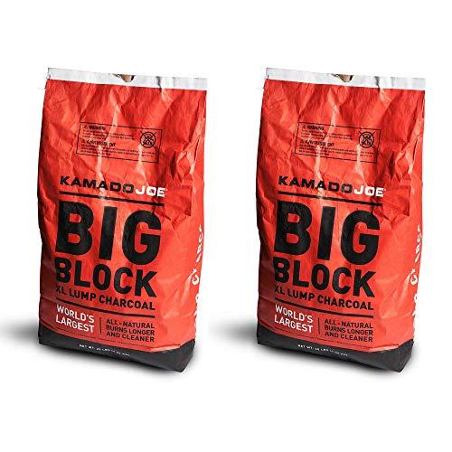 Kamado Joe All Natural Big Block Charcoal - 20 LBS (2 Pack)