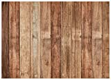 WOLADA Wood Backdrop Brown Wood backdrops for Photography Retro Wood Wall Background Child Baby Shower Birthday Party Banner Cloth Seamless Photoshoot Props 11755 7x5ft