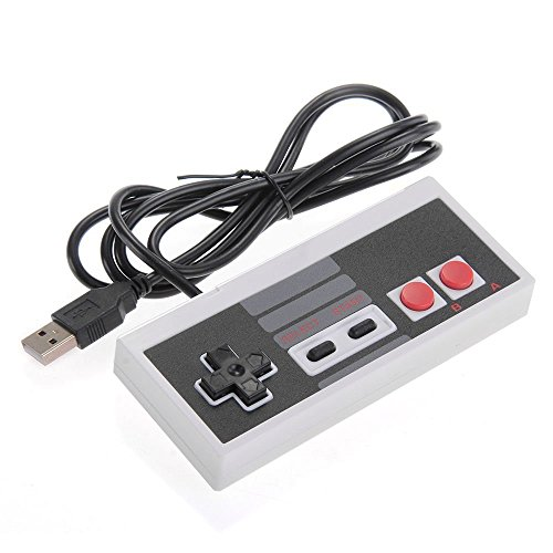 Controller in good old 8bit NES/Famicom style Connect via USB Cable length: 146cm/4.8ft 100% compatible product - Not an original Nintendo product.