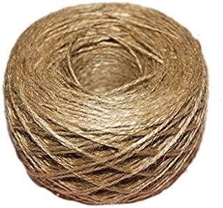 /naturale strutturato in tela di iuta spago string 1/mm regalo imballaggio chic di nozze 100/meter/