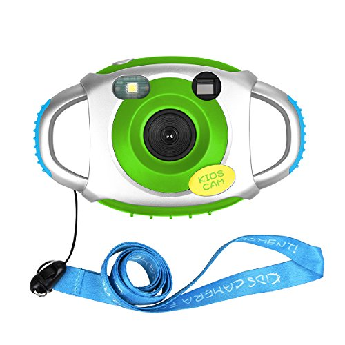 Tyhbelle Kids Camera, Creative Lightweight Digital Camera for Kids with Soft Silicone Protective Shell