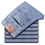 Vaqueros para Jeans Pantalones Nuevos Pantalones Vaqueros Azules Claros De Primavera para Hombre, Pantalones...