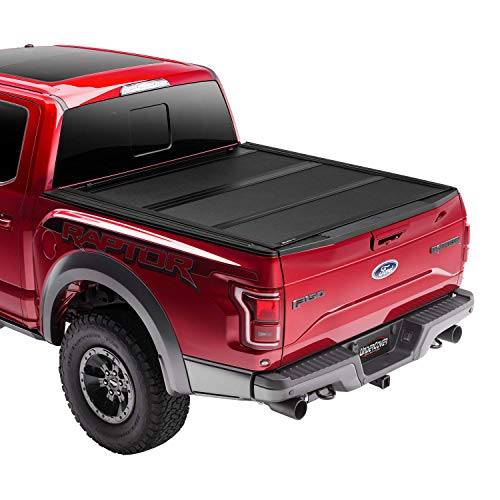 Undercover ArmorFlex Hard Folding Truck Bed Tonneau Cover | AX52013 | Fits 16-20 Nissan Titan 5'5' Bed