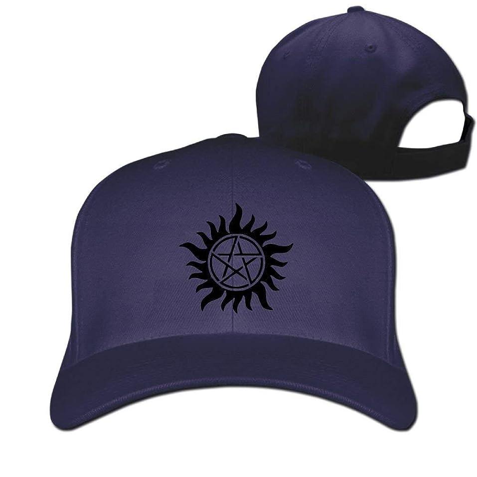 拡声器酔っ払い予想外サンドイッチピークキャップ100%コットンスーパーナチュラルシンボルピーク野球帽新しいデザインクール帽子