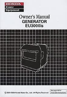 2001-2009 HONDA POWER GENERATOR EU3000is OWNER'S MANUAL (445)