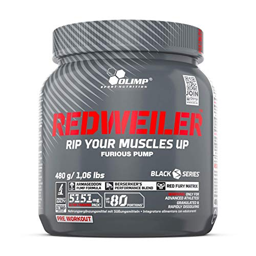 Olimp Redweiler Pre Workout 480 Grams Red Punch