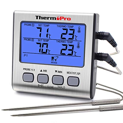 3. ThermoPro TP17 Digitales Grill-Thermometer