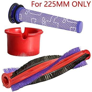 Kit de filtres à rouleaux pour brosse électrique Dyson V6