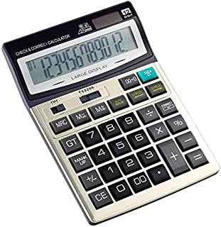 SaleOn™ CT-712 Big Size Financial and Business Calculator-196