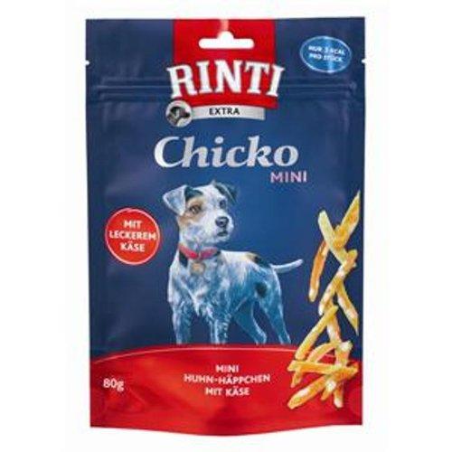 Rinti Extra Chicko Mini Huhn & Käse 12x 80g | extra kleine Hundesnacks