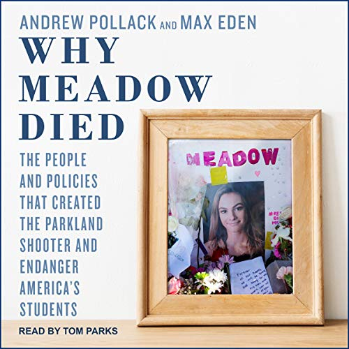 Why Meadow Died audiobook cover art