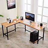 VADIM Computer Desk Gaming Office L Shaped Corner Desk Home Laptop Writing PC Table Workstation with...