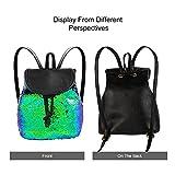yisi girls mini toddler Flip sequin cute little backpacks teens chool glitter bookbags purses for women kids small gifts